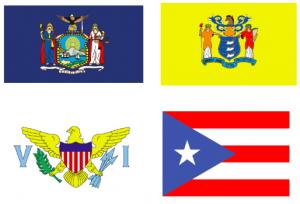 Region 2 Population Flags