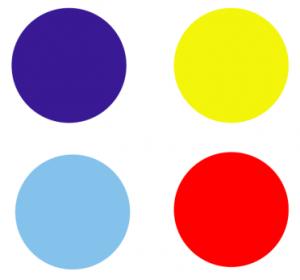 Region 2 Color Circles