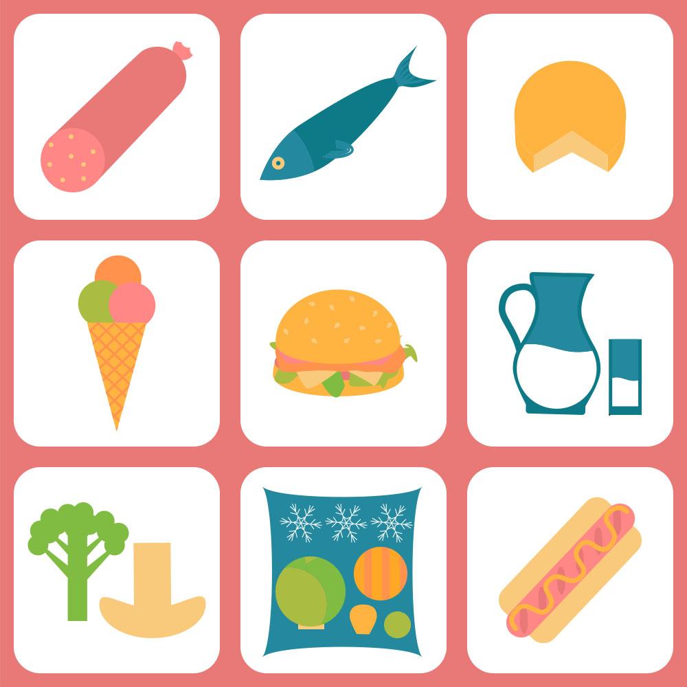 Illustration of Food