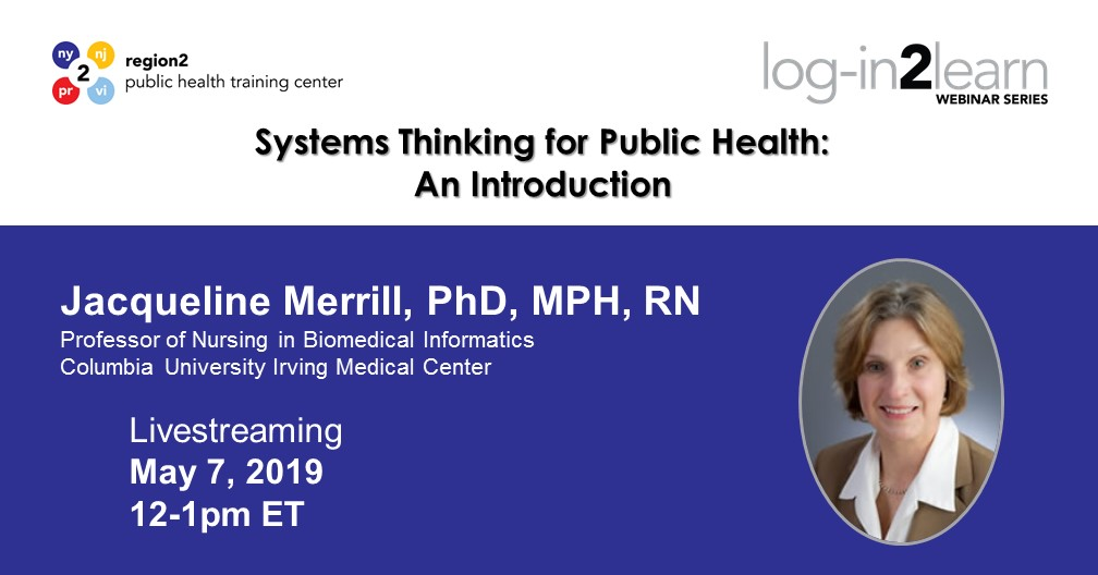 Systems Thinking for Public Health An Introduction