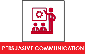 persuasive communication icon